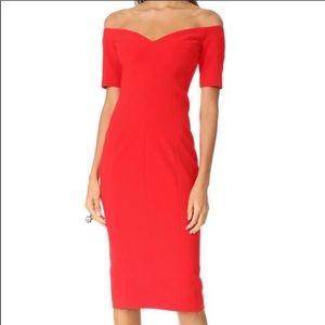 Over the shoulder designer gowns!